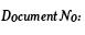 Document No: