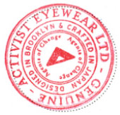 Activist Eyewear Ltd. - GENUINE